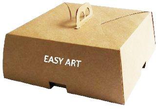 Caixas para Bolos e Tortas 25x25x9,5 - Pct com 10 Unidades