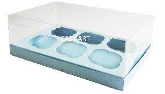 Caixas para Cupcakes 24x18,5x9 - Pct com 10 Unidades