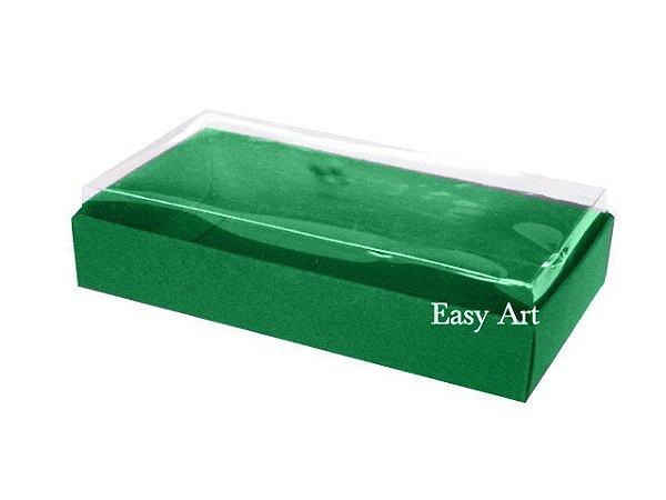 Caixinha para 1 Sabonete / Bijuterias - Verde Bandeira