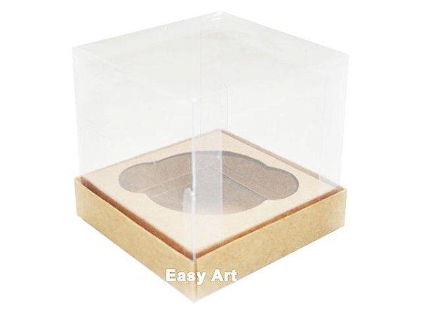Caixas para Cupcakes 8x8x8 - Kraft