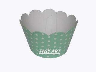 Wrapper para Cupcakes - 6,5x4,5x4,5