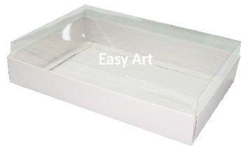 Caixas para 24 Mini Doces 15,5x10,5x3,5 - Branco