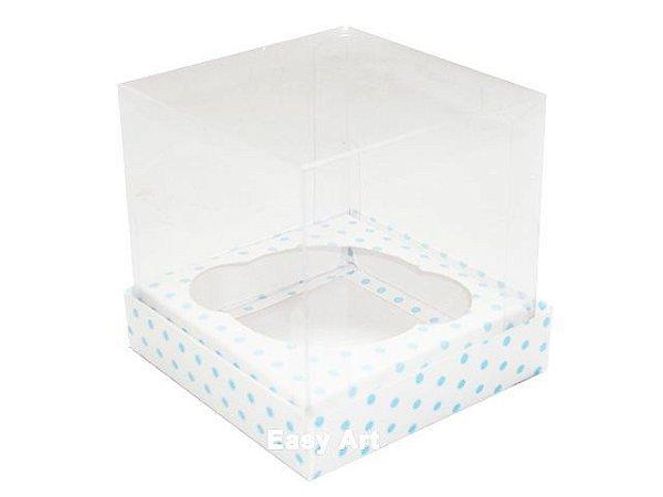 Caixas para 1 Mini Cupcake 6x6x7,5 - Pct com 10 Unidades