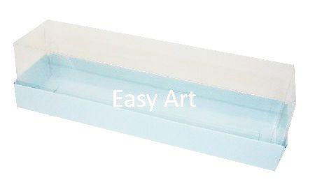 Caixas para 7 Macarons / 4 Brigadeiros - Azul Claro