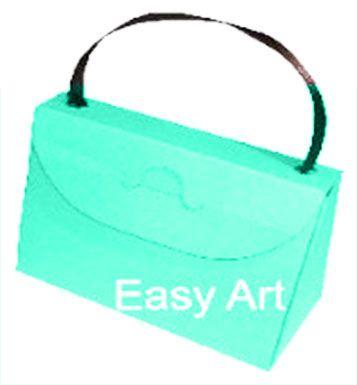 Caixa Bolsinha - Azul Tiffany