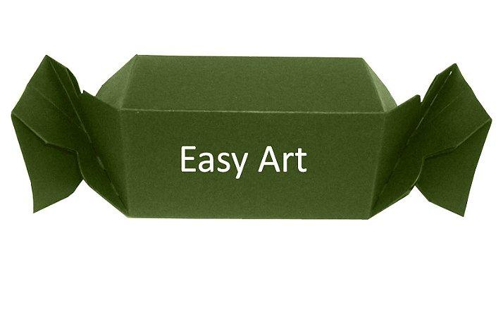 Caixa Bala - Verde Musgo