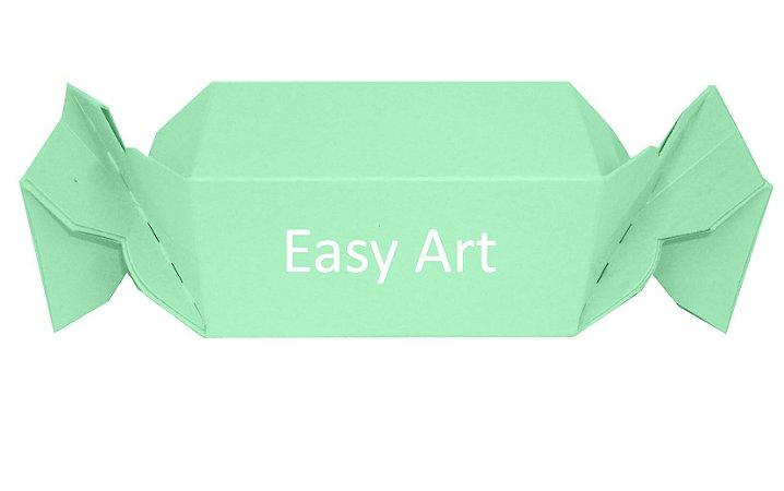 Caixa Bala - Verde Claro