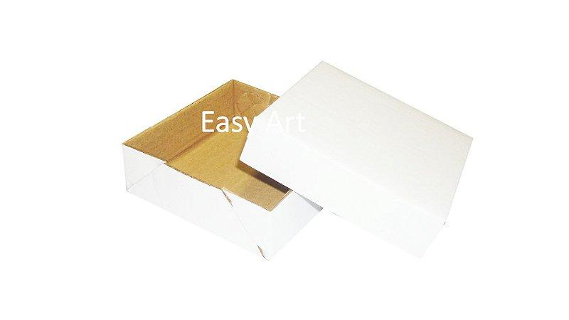 Caixas em Papelão -  Branco / Pardo