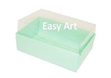 Caixas para 06 Mini Doces - Verde Claro