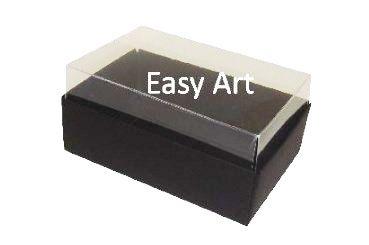 Caixas para 06 Mini Doces - Preto