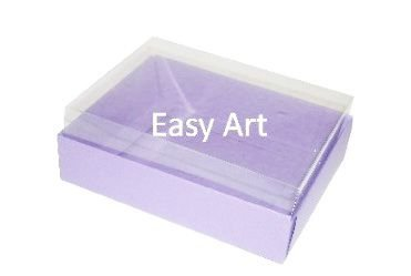 Caixas para 12 Mini Doces - Lilás