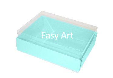 Caixas para 12 Mini Doces - Azul Tiffany