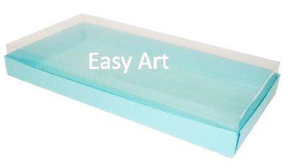 Caixas para 50 Mini Doces - Azul Tiffany