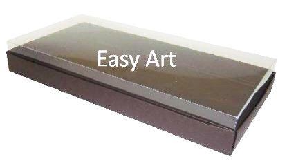 Caixas para 50 Mini Doces - Marrom Chocolate