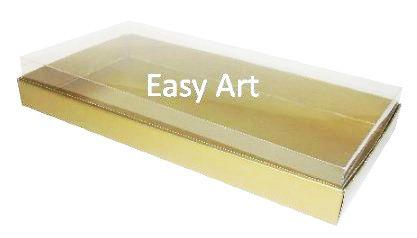 Caixas para 50 Mini Doces - Dourado Brilhante