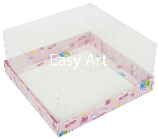 Caixas para Coração Lapidado / Mini Bolo 12x12x6 - Pct com 10 Unidades