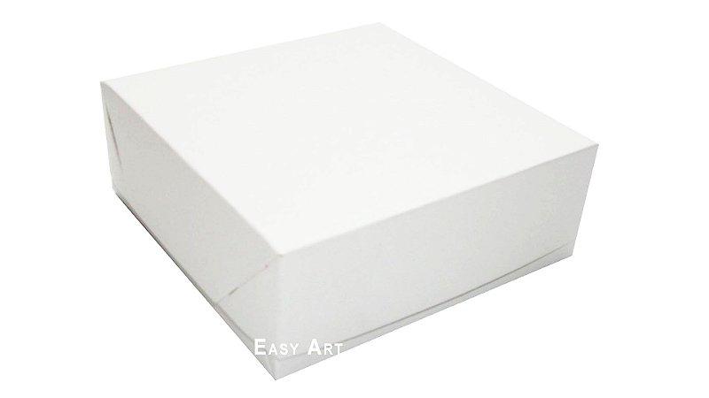 Caixas para 25 Brigadeiros 20x20x3,7 - Branco