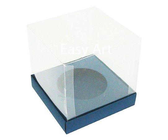 Caixas para Cupcakes - Azul Marinho