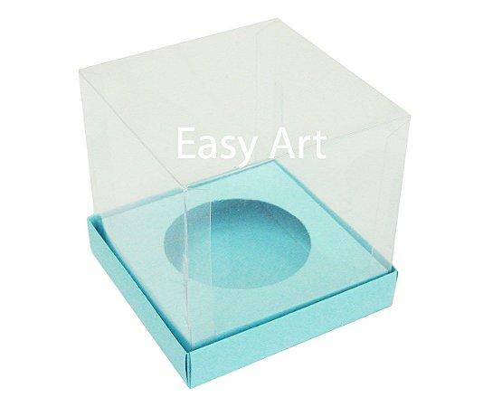 Caixas para Cupcakes - Azul Tifanny