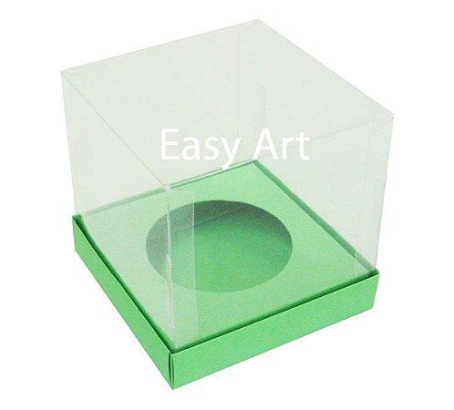 Caixas para Cupcakes - Verde Pistache