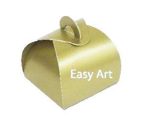 Caixinha Valise - Dourado
