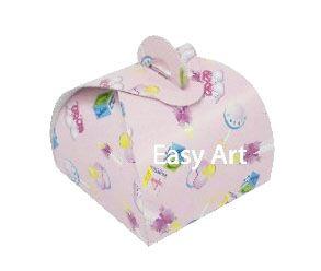 Caixinha Valise - Estampado Bebê Rosa