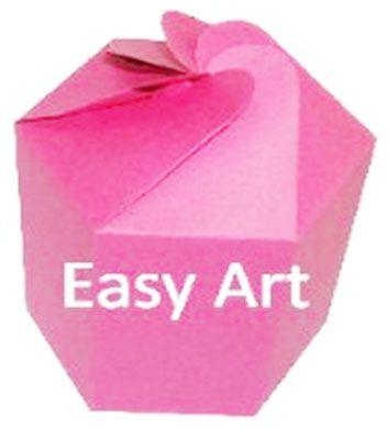 Caixa Flor para Presentes - Pink
