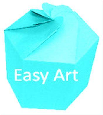 Caixa Flor para Presentes - Azul Tiffany