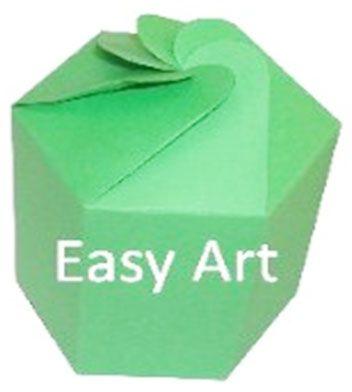 Caixa Flor para Presentes - Verde Pistache