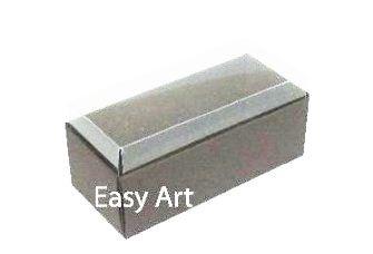 Caixas para 4 Macarons ou 2 Brigadeiros 10x4,5x4,5 - Pct com 10 Unidades