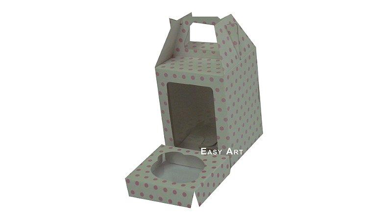 Caixinhas Maleta para Cupcakes - 8x8x8