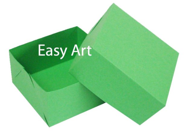 Caixa para 4 Brigadeiros - Verde Pistache