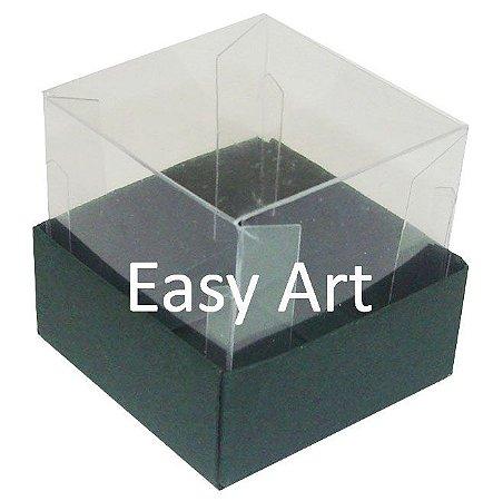 Caixa para Mini Bolos - Verde Musgo