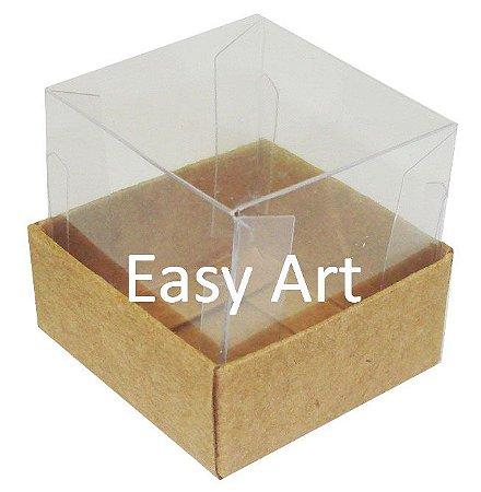 Caixa para Mini Bolos 5x5x5 - Kraft