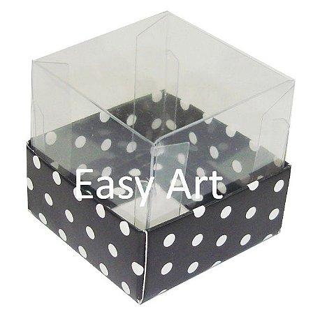 Caixa para Mini Bolos 5x5x5 - Pct com 10 Unidades