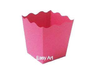 Cachepô / Caixa para Pipoca - Pink