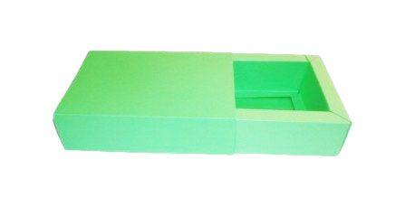 Caixas para 4 Brigadeiros - 12x12x4,5 / Verde Pistache