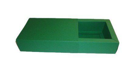 Caixas para 4 Brigadeiros - 12x12x4,5 / Verde Bandeira