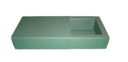 Caixas para 4 Brigadeiros - 12x12x4,5 / Verde Musgo
