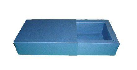 Caixas para 4 Brigadeiros - 12x12x4,5 / Azul Marinho