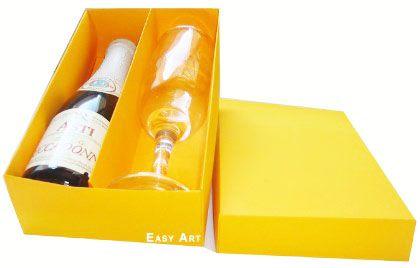 Caixas para Mini Vinho e Taça Sem Visor - Pct com 10 Unidades
