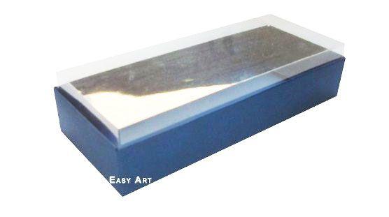 Caixa para 10 Brigadeiros - 20x8x4,5 / Azul Marinho
