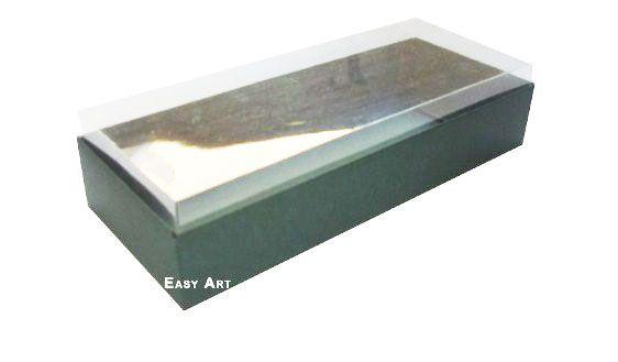 Caixa para 10 Brigadeiros - 20x8x4,5 / Verde Musgo