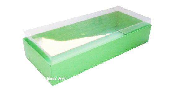 Caixa para 10 Brigadeiros - 20x8x4,5 / Verde Pistache