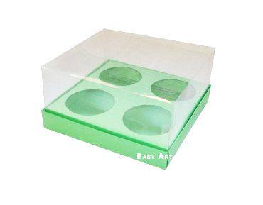 Caixa para 4 Mini Cupcakes - Pct com 10 Unidades