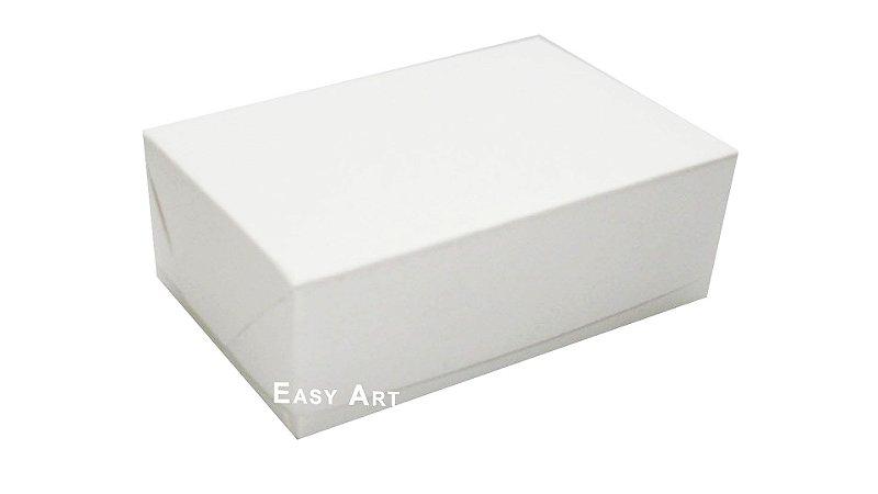 Caixas para 6 Brigadeiros 12x8x3,7 - Branco
