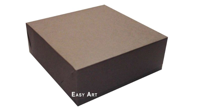 Caixas para 9 Brigadeiros - Marrom Chocolate