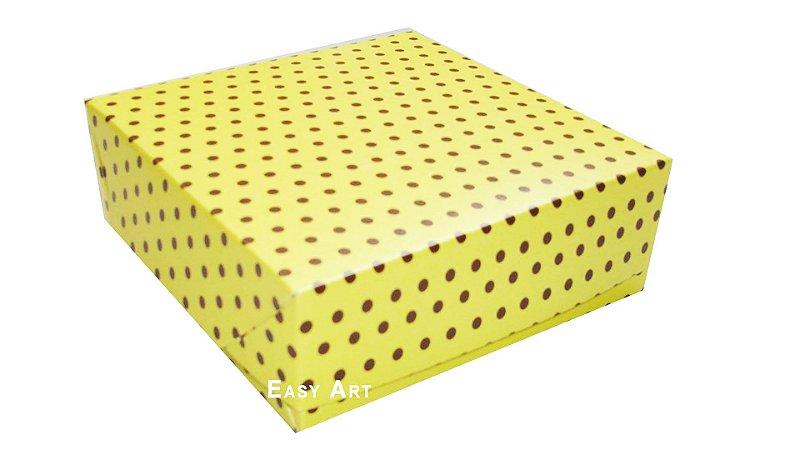 Caixas para 9 Brigadeiros 12x12x3,7 - Pct com 10 Unidades