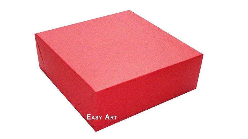 Caixas para 16 Brigadeiros - Vermelho