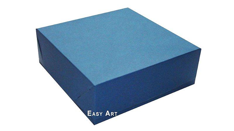 Caixas para 16 Brigadeiros - Azul Marinho